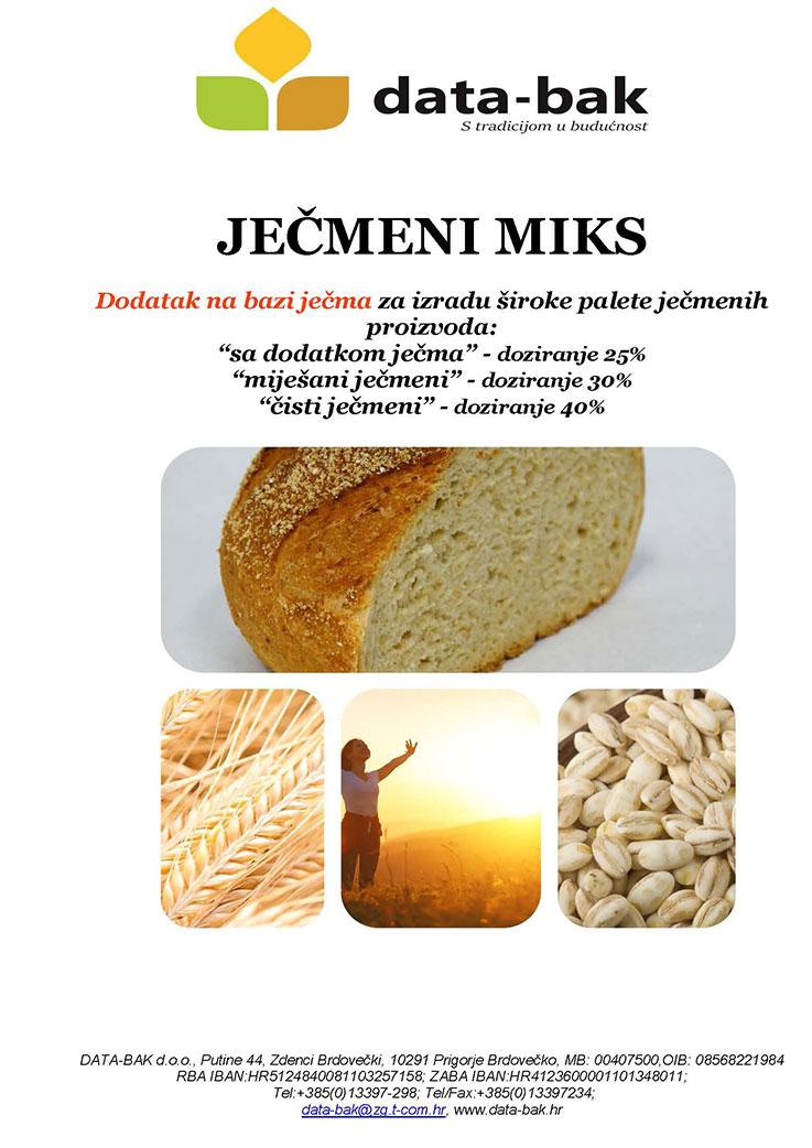 JEČMENI MIKS