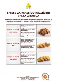 Cookies mixture